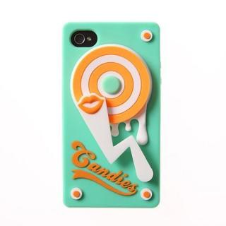 その他のiPhone/iPod ケース TURN TABLE グリーン iPhone 4/4sケース