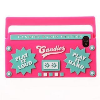 その他のiPhone/iPod ケース iPhone4/4s RADIO PINK