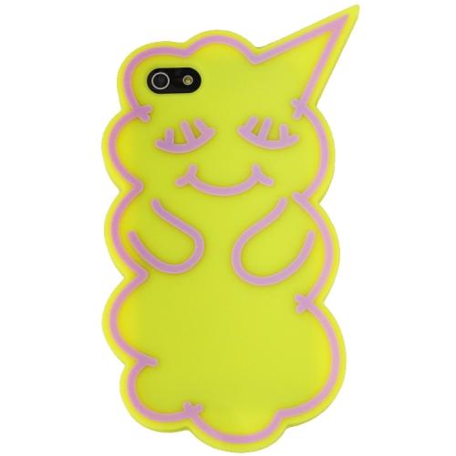 iPhone SE/5s/5 ケース iPhone SE/5s/5 SLEEPIE YELLOW x PURPLE_0