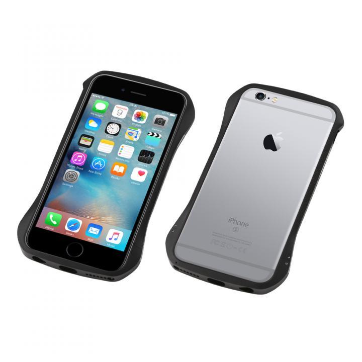 【iPhone6s/6ケース】CLEAVE アルミニウムバンパー 限定版 ブラック/スペースグレー iPhone 6s/6_0