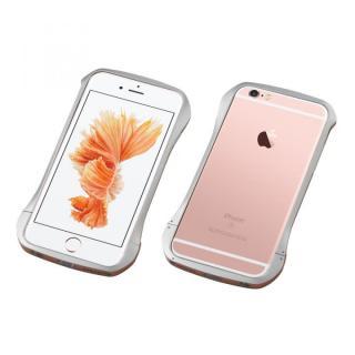 CLEAVE アルミニウムバンパー 限定版 シルバー/ローズゴールド iPhone 6s/6