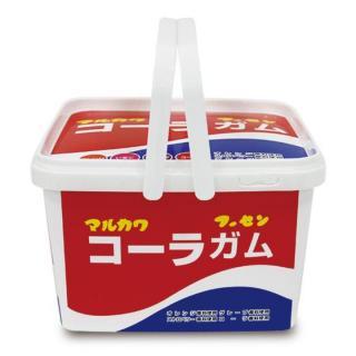 マルカワマーブル ガムバケツ 40袋入 コーラ柄