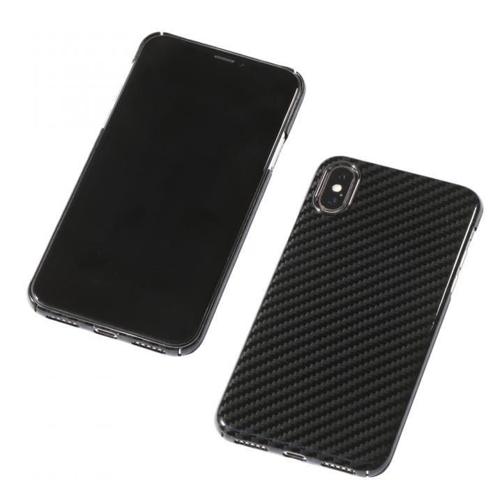 iPhone XS/X ケース Deff Ultra Slim & Light Case DURO グロスブラック iPhone XS/X_0