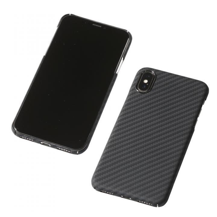 【iPhone XS/Xケース】Deff Ultra Slim & Light Case DURO マットブラック iPhone XS/X_0