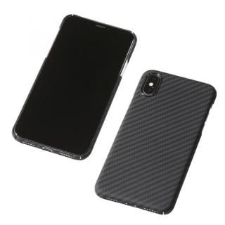 【iPhone XS Maxケース】Deff Ultra Slim & Light Case DURO マットブラック iPhone XS Max【12月下旬】