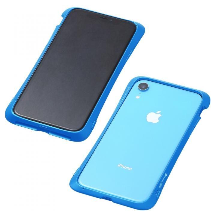 iPhone XR ケース Deff CLEAVE Aluminum Bumper Aloof ブルー iPhone XR_0