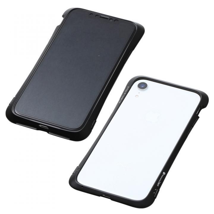 iPhone XR ケース Deff CLEAVE Aluminum Bumper Aloof ブラック iPhone XR_0