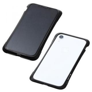 【iPhone XRケース】Deff CLEAVE Aluminum Bumper Aloof ブラック iPhone XR【1月下旬】