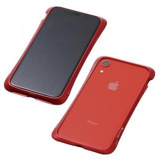 iPhone XR ケース Deff CLEAVE Aluminum Bumper Aloof レッド iPhone XR