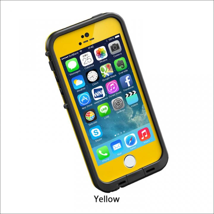 iPhone SE/5s/5 ケース 防水なのにTouchID対応 LifeProof fre イエロー iPhone SE/5s/5ケース_0