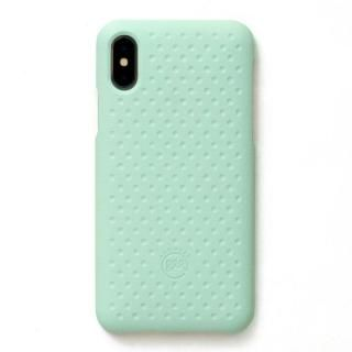 【iPhone XS/Xケース】AndMesh Haptic Case 背面ケース Mint iPhone XS/X【12月下旬】