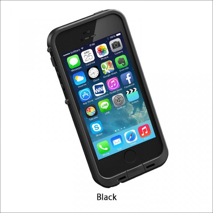 iPhone SE/5s/5 ケース 防水なのにTouchID対応 LifeProof fre ブラック iPhone SE/5s/5ケース_0