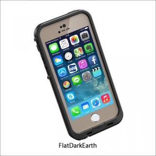 防水なのにTouchID対応 LifeProof fre Flat Dark Earth iPhone SE/5s/5ケース
