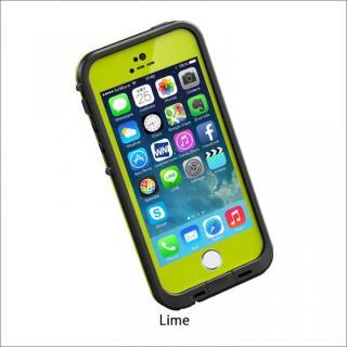 防水なのにTouchID対応 LifeProof fre ライム iPhone SE/5s/5ケース