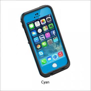 防水なのにTouchID対応 LifeProof fre シアン iPhone SE/5s/5ケース