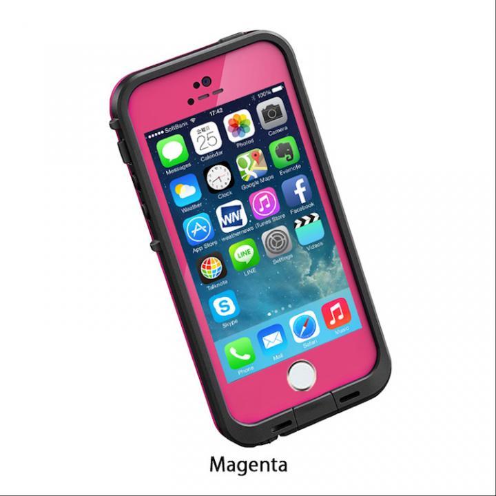 iPhone SE/5s/5 ケース 防水なのにTouchID対応 LifeProof fre マゼンタ iPhone SE/5s/5ケース_0