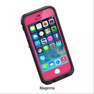 【在庫限り】防水なのにTouchID対応 LifeProof fre マゼンタ iPhone 5s/5ケース