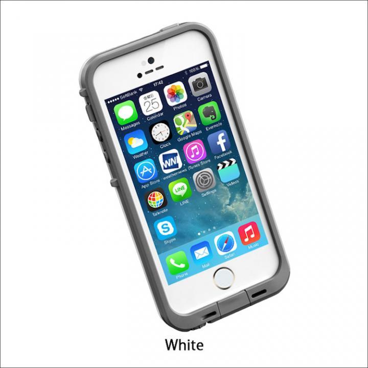 iPhone SE/5s/5 ケース 防水なのにTouchID対応 LifeProof fre ホワイト iPhone SE/5s/5ケース_0