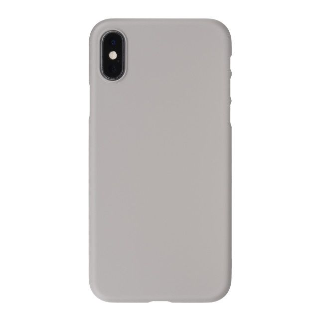 iPhone XS ケース パワーサポート エアジャケット ラバーグレイ iPhone XS_0