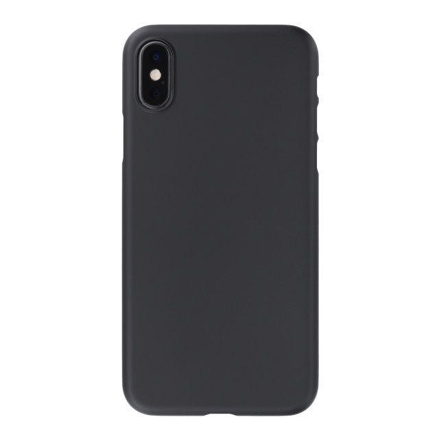 iPhone XS ケース パワーサポート エアジャケット ラバーブラック iPhone XS_0