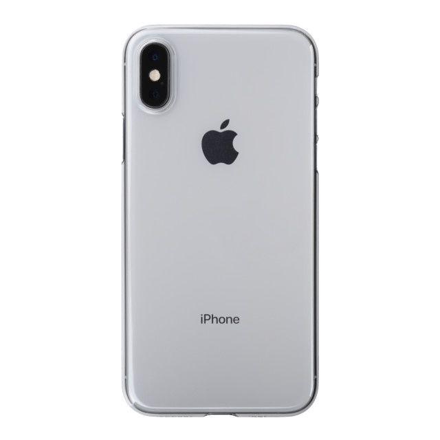 【iPhone XSケース】パワーサポート エアジャケット クリア iPhone XS_0