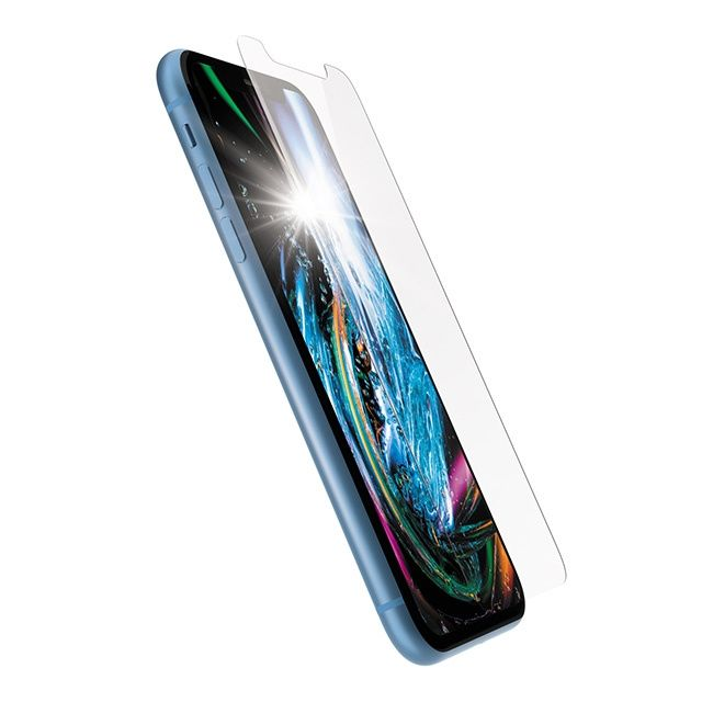 iPhone XR フィルム パワーサポート Dragontrail 強化ガラス for iPhone XR_0