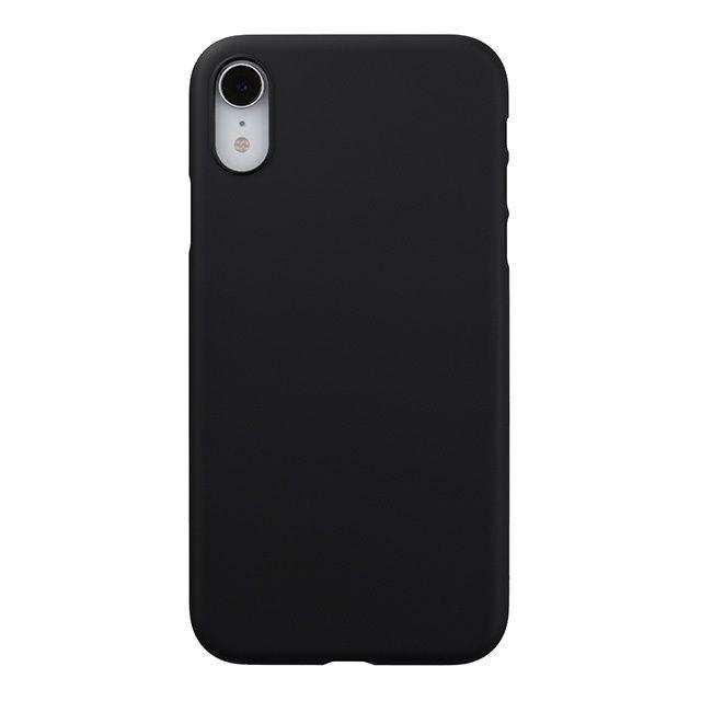iPhone XR ケース パワーサポート エアジャケット ラバーブラック iPhone XR_0