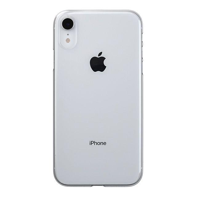 iPhone XR ケース パワーサポート エアジャケット クリア iPhone XR_0