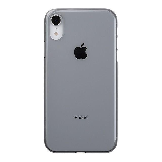 iPhone XR ケース パワーサポート エアジャケット クリアブラック iPhone XR_0