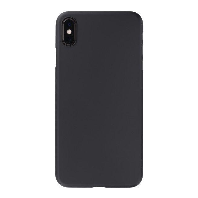 iPhone XS Max ケース パワーサポート エアジャケット ラバーブラック iPhone XS Max_0