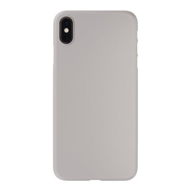 iPhone XS Max ケース パワーサポート エアジャケット ラバーグレイ iPhone XS Max_0