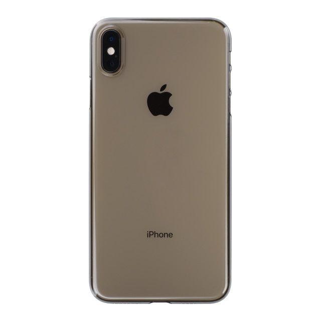 iPhone XS Max ケース パワーサポート エアジャケット クリアブラック iPhone XS Max_0