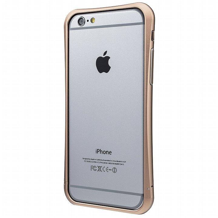 【iPhone6ケース】PRECISION ネジなし メタルバンパー ゴールド iPhone 6_0