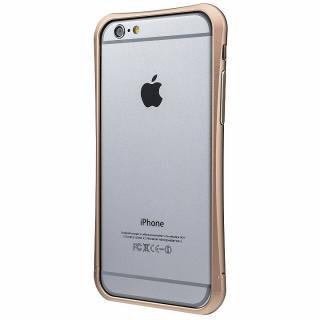 PRECISION ネジなし メタルバンパー ゴールド iPhone 6