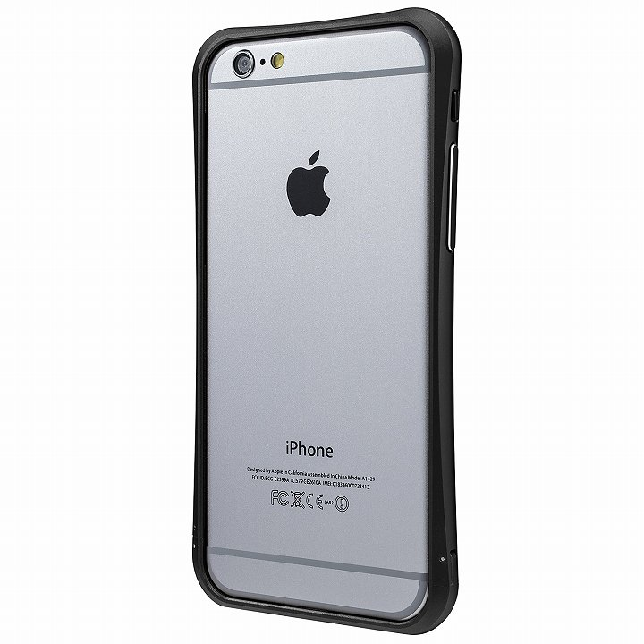 iPhone6 ケース PRECISION ネジなし メタルバンパー ブラック iPhone 6_0