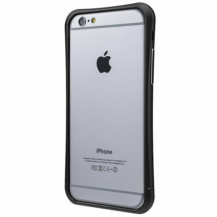 【iPhone6ケース】PRECISION ネジなし メタルバンパー ブラック iPhone 6_0
