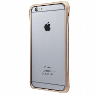 PRECISION ネジなし メタルバンパー ゴールド iPhone 6 Plus