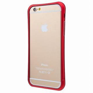 【iPhone6ケース】PRECISION ネジなし メタルバンパー レッド iPhone 6_2
