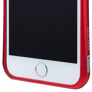 【iPhone6ケース】PRECISION ネジなし メタルバンパー レッド iPhone 6_6