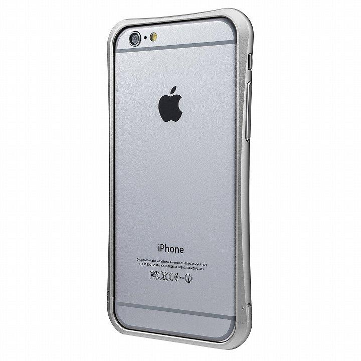 PRECISION ネジなし メタルバンパー シルバー iPhone 6