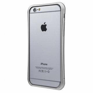 【iPhone6ケース】PRECISION ネジなし メタルバンパー シルバー iPhone 6