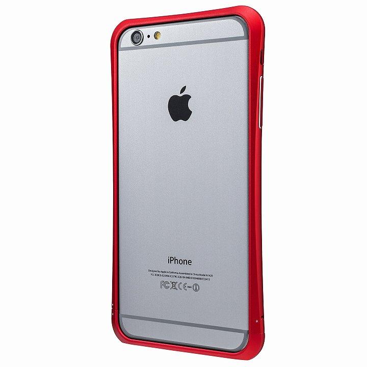 iPhone6 Plus ケース PRECISION ネジなし メタルバンパー レッド iPhone 6 Plus_0
