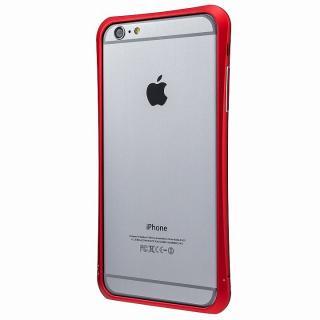 PRECISION ネジなし メタルバンパー レッド iPhone 6 Plus