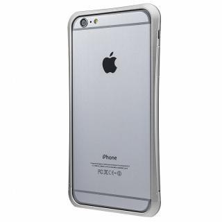 PRECISION ネジなし メタルバンパー シルバー iPhone 6 Plus