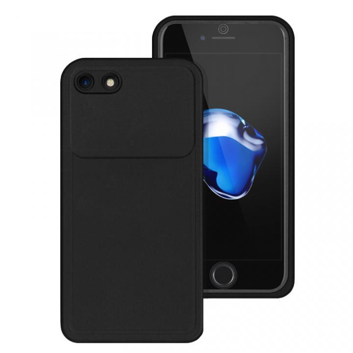 iPhone8/7 ケース 薄い防水ケース カード1枚収納可能 JEMGUN Passport ブラック iPhone 8/7_0