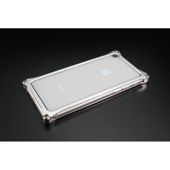 iPhone8/7 ケース ギルドデザイン ソリッドバンパー シルバー iPhone SE 第2世代/8/7_0