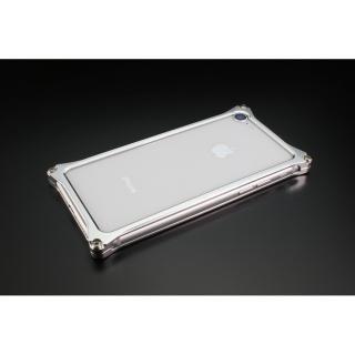 ギルドデザイン ソリッドバンパー シルバー iPhone 7