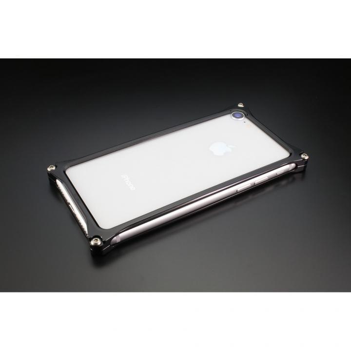 iPhone8/7 ケース ギルドデザイン ソリッドバンパー ブラック iPhone 8/7_0