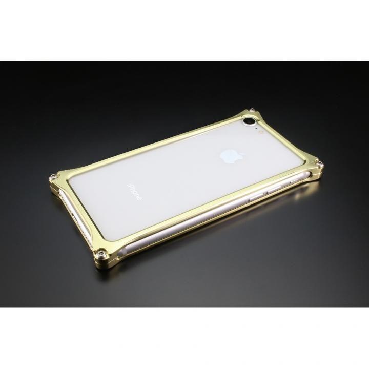 iPhone8/7 ケース ギルドデザイン ソリッドバンパー シャンパンゴールド iPhone SE 第2世代/8/7_0