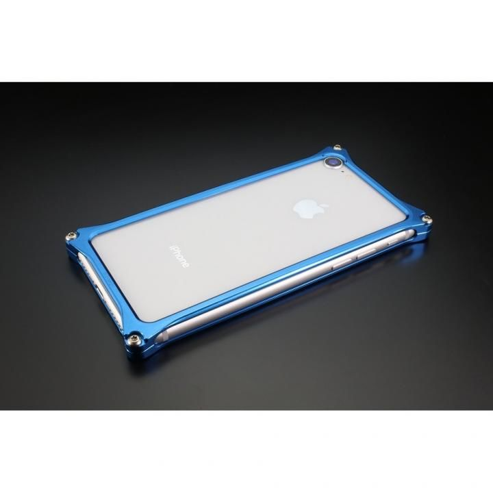 【iPhone8/7ケース】ギルドデザイン ソリッドバンパー ブルー iPhone 8/7_0